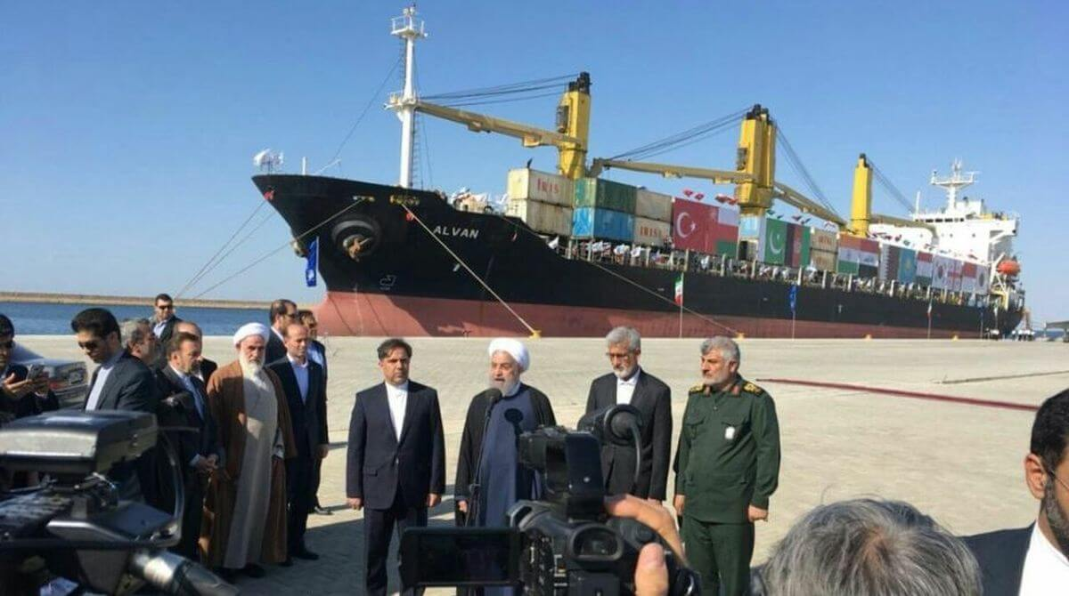 sanctions exemption for Iran port development