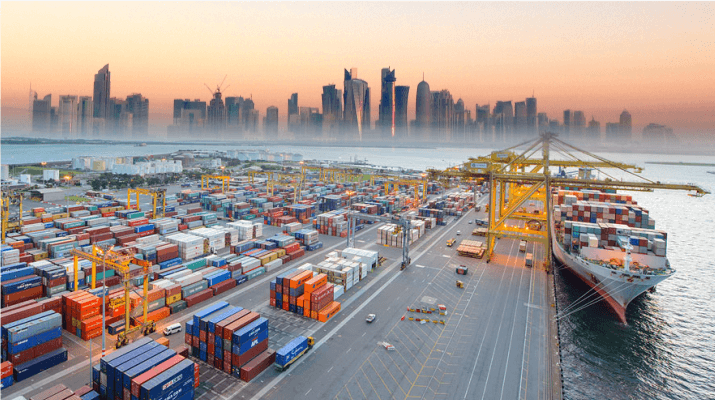 ترانزیت کالا به قطر